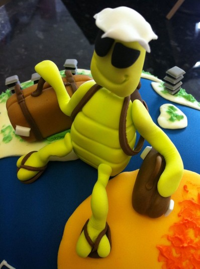 Travel Bug Cake