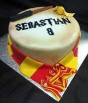 Harry Potter Themed Birthday Cake