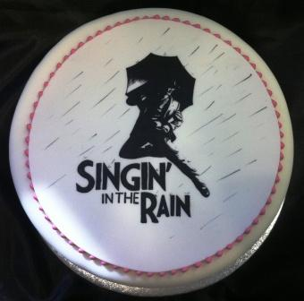 Singing in the Rain Cake