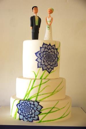 Painted Flower Wedding