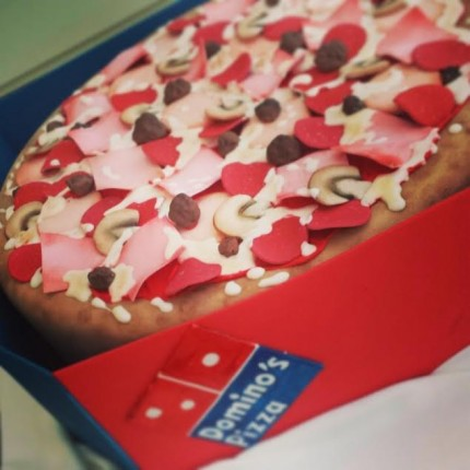 Dominos Pizza Birthday Cake Sweet Serenity