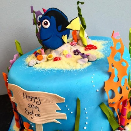 "Dory ""Finding Nemo"" Cake"