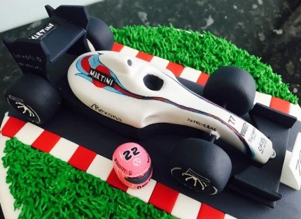 Cake Decorating Racing Car : Formula 1 Racing Car Cake
