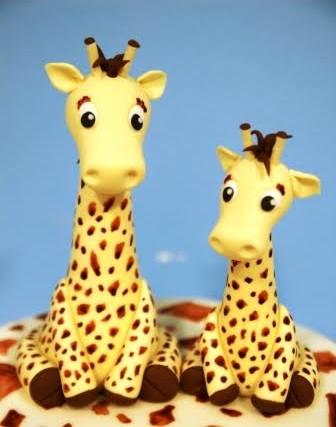 Giraffe Model Cake