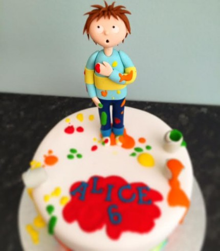Back To Our Cake Gallery Horrid Henry Birthday