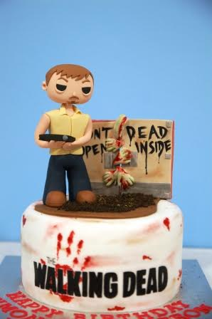 Walking Dead Birthday Cake