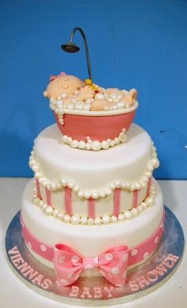 Baby Shower Bath Cake