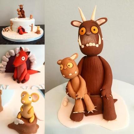 Gruffalo Christening Cake