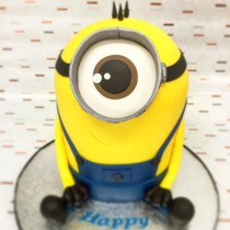 3D Minion Cake Decorating Course